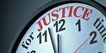 Time for Justice , 3d render