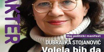 Насловна страница на српското списание Карактер/ фото karakter.rs