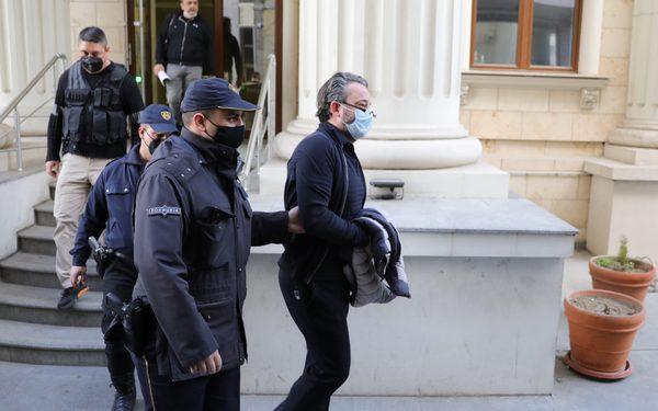 Спроведување на Камчев во притвор. Фото: МИА
